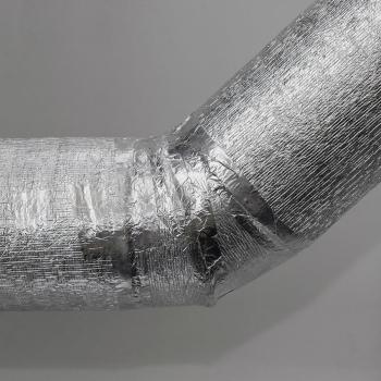 Алюминиевая клейкая лента AVIORA с лайнером, 60мкр