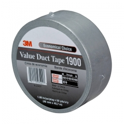 Тканево-армированная лента 3М 1900 Duct tape, 170мкр