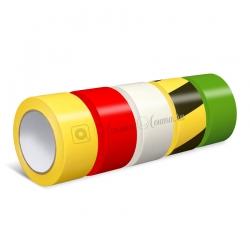 Сигнальная лента Jessup 2200 для разметки и маркировки, 150мкр