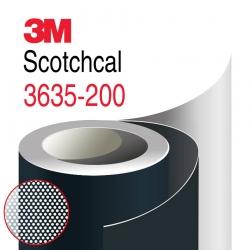 Пленка 3М 3635-200 для световой рекламы, Перфорированная