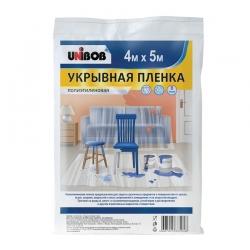 Укрывная полиэтиленовая пленка UNIBOB, 8-12мкр