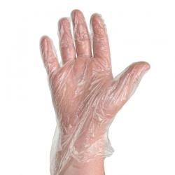 Перчатки полиэтиленовые UNIBOB одноразовые, 100 шт