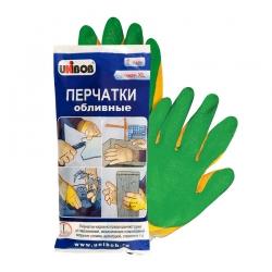 Перчатки обливные UNIBOB с латексным наладонником, пара