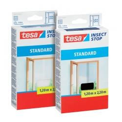 Москитная сетка на липучке для дверей tesa «Стандарт», 1.2х2.2м