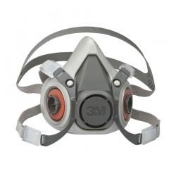 Полумаска 3M 6000-серия для защиты органов дыхания