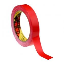 Односторонняя лента 3M 6893 на ПВХ основе, Красная, 60мкр