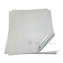 Лист этикеточный 3M 7909S для печати, Алюминий шлифованный