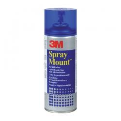 Клей-спрей 3M Spray Mount временной фиксации, 400мл