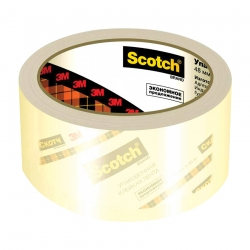 Упаковочная лента Scotch на основе полипропилена, 40мкр