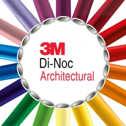Архитектурная пленка 3М Di-Noc для 3D поверхностей